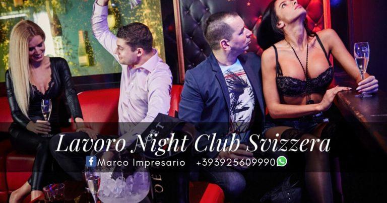 lavoro Night Club Svizzera