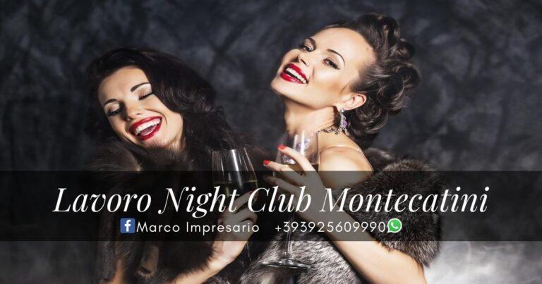 lavoro night club montecatini