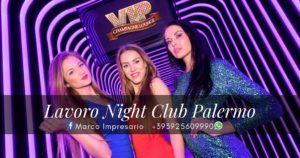 lavoro night club palermo