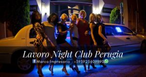 lavoro night club perugia