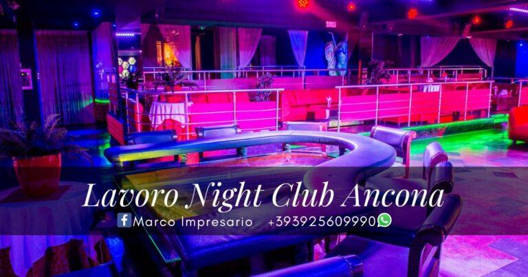 lavoro night club Ancona