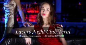 lavoro night club Terni