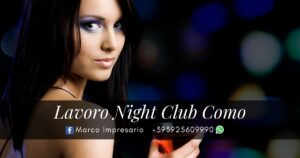lavoro night club como