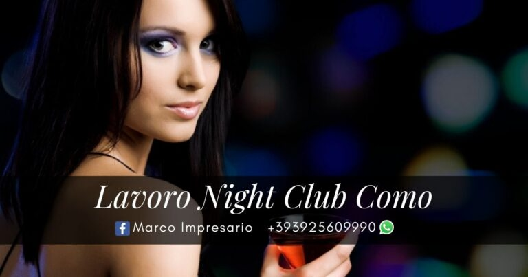 lavoro night club como