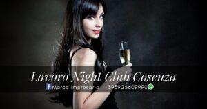 lavoro night club cosenza