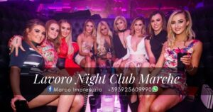 lavoro night club marche
