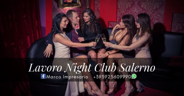 lavoro night club salerno