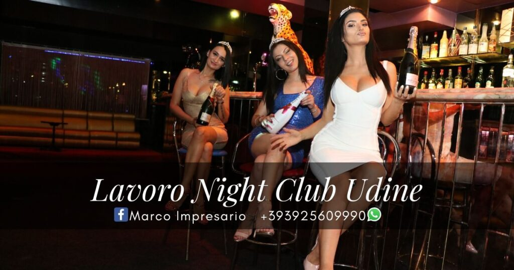 lavoro night club udine