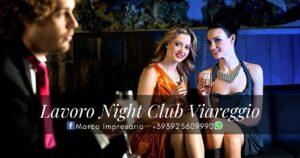 lavoro night club viareggio