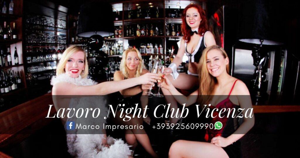 lavoro night club vicenza