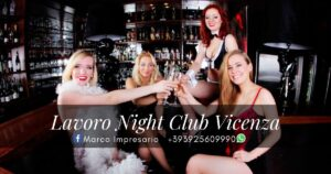 lavoro night club vicenza
