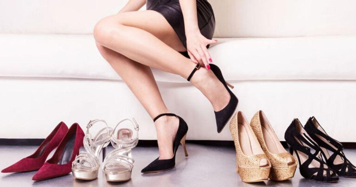 scarpe tacchi lavoro night club
