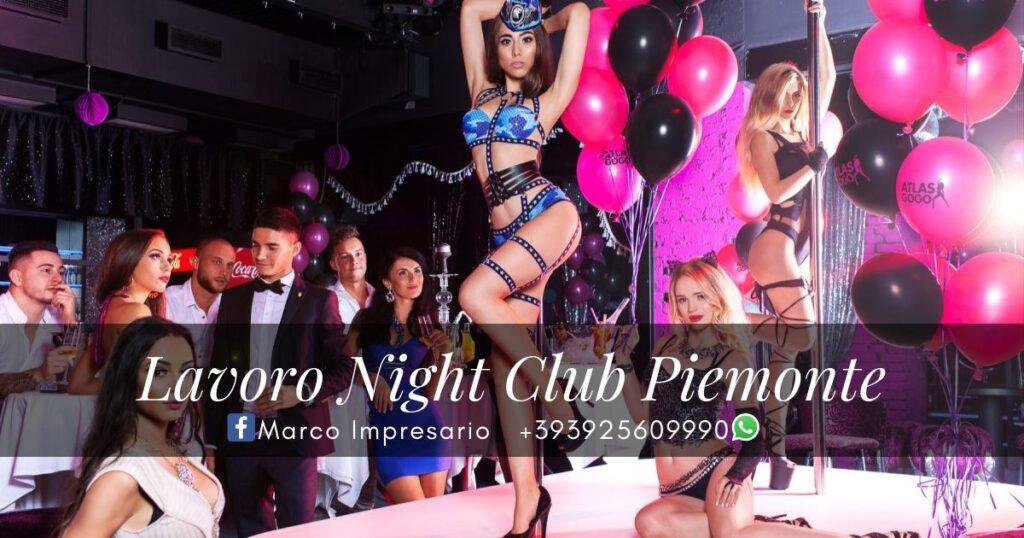 Lavoro Night Club Piemonte