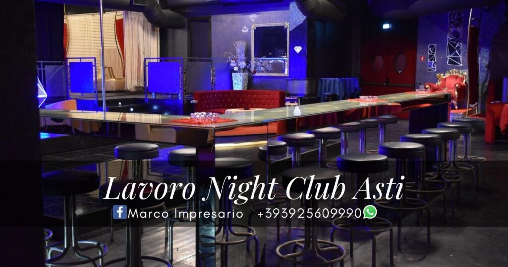 lavoro night club asti