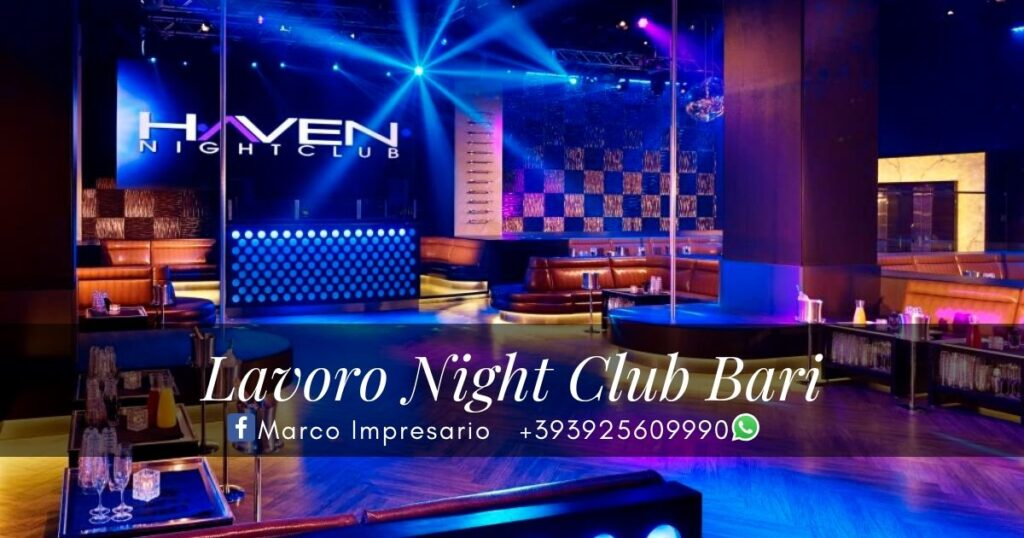 lavoro night club bari