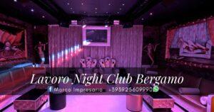 lavoro night club bergamo