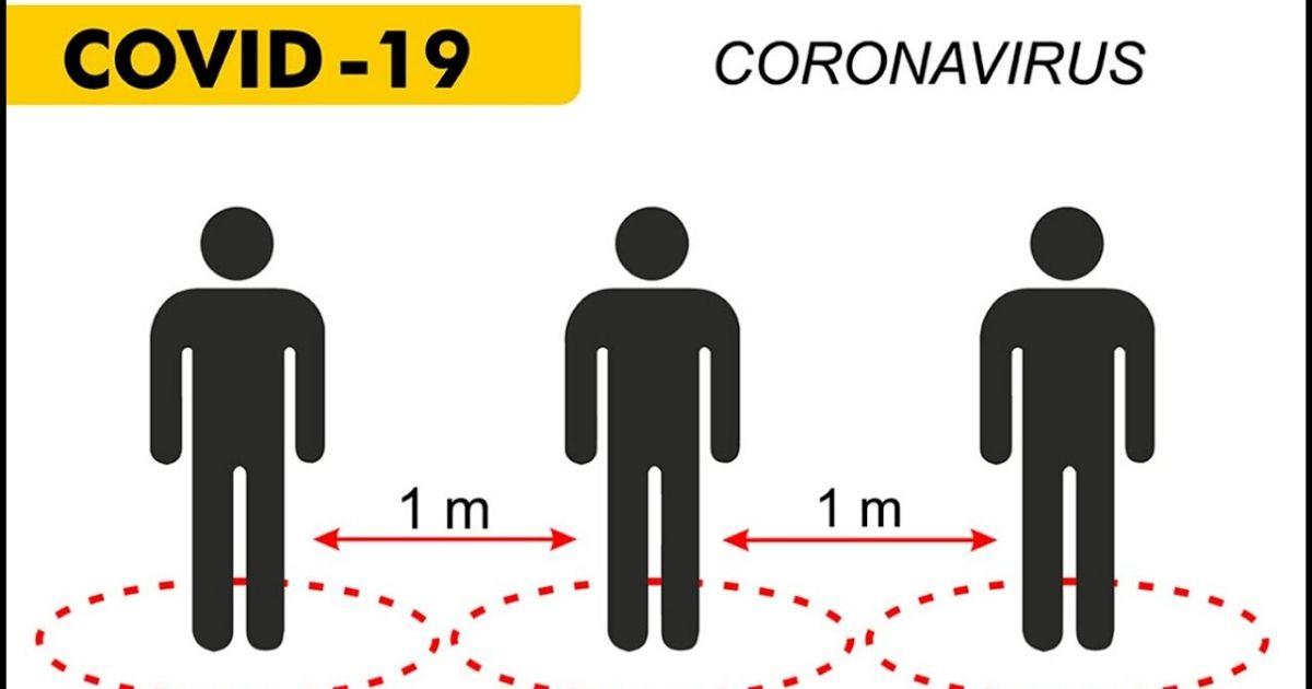 coronavirus distanziamento sociale