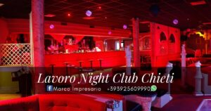 lavoro night club chieti