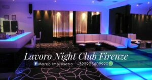 lavoro night club firenze