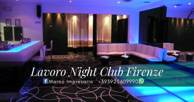 lavoro night club firenze