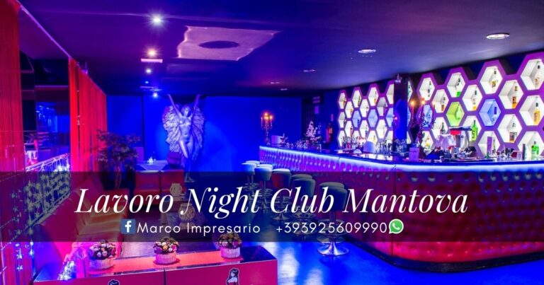 lavoro night club mantova
