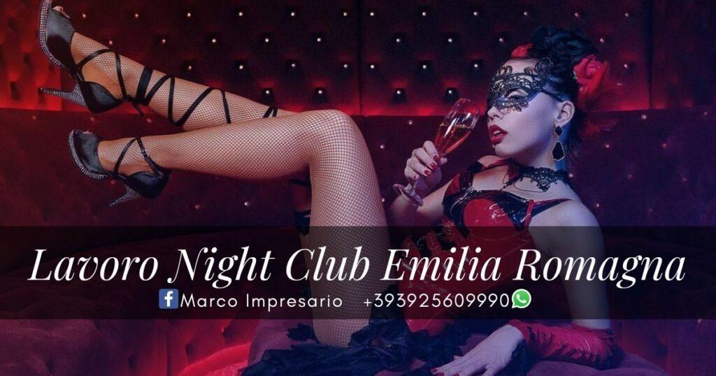 Lavoro Night Club Emilia Romagna