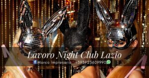 lavoro night club lazio