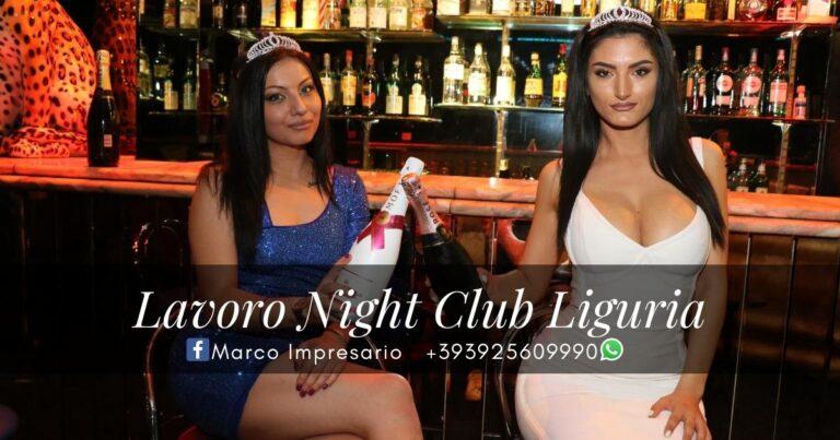 lavoro night club liguria
