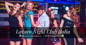 lavoro night club italia