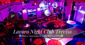 lavoro night club treviso
