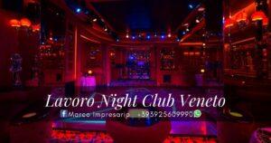 lavoro night club veneto