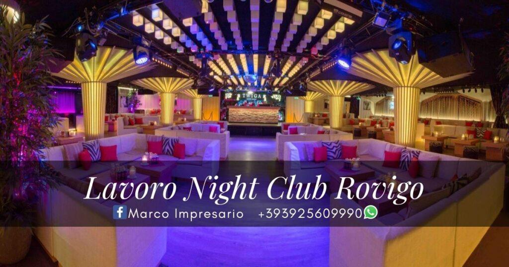 Lavoro Night Club Rovigo