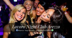 Lavoro night club Arezzo