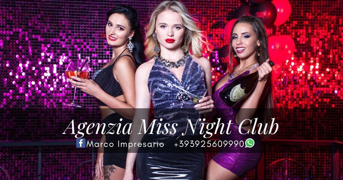 lavoro night club regione Lombardia e provincia