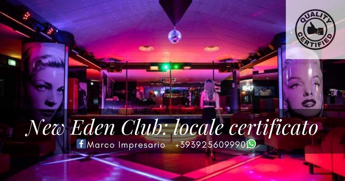 locale notturno night club certificato