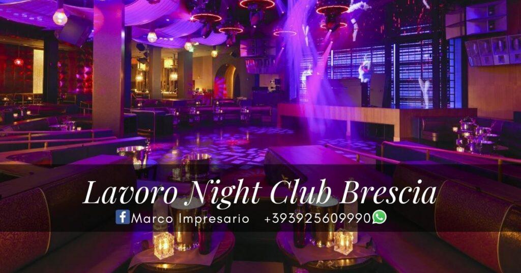 Lavoro Night Club Brescia