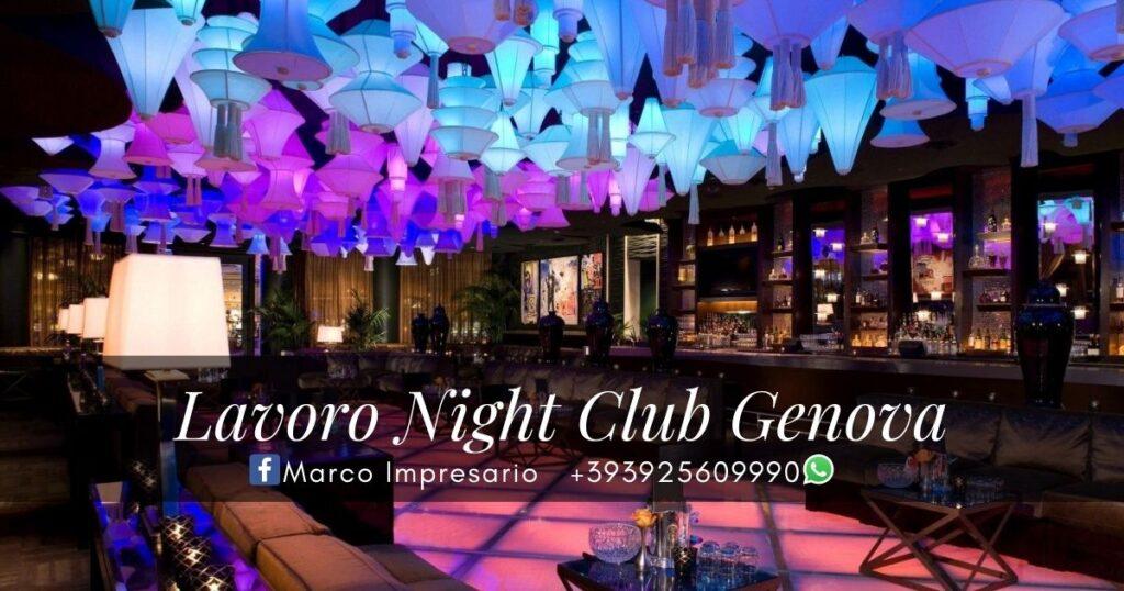 Lavoro Night Club Genova
