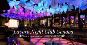 Lavoro Night Club Genova
