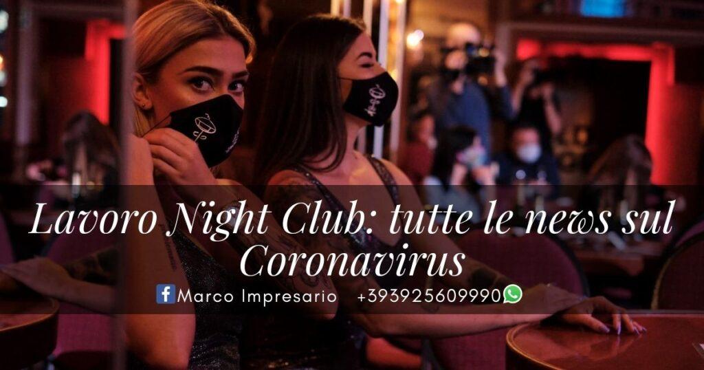 lavoro night club news coronavirus covid-19