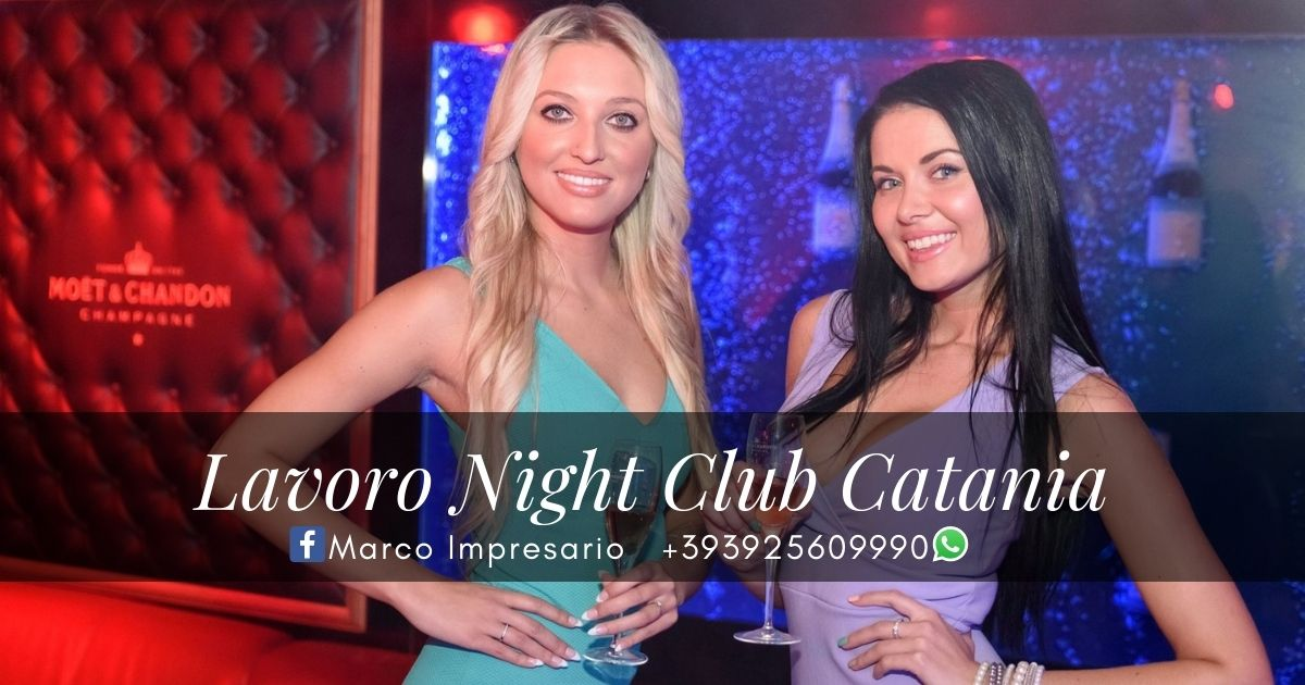 Lavoro Night Club Catania