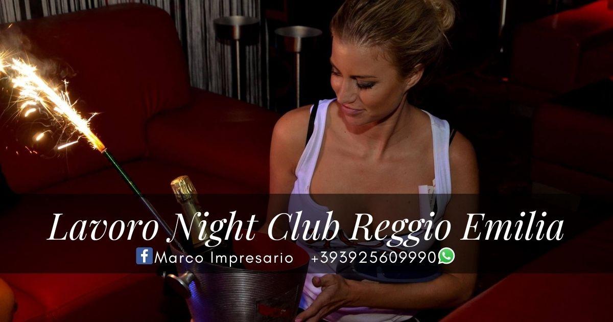 lavoro night club reggio emilia